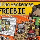 Fall Fun Sentences FREEBIE