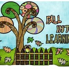 Fall Into Learning (Bulletin board)