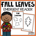 Fall Leaves Color Book {Emergent Reader}
