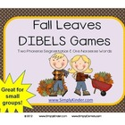 Fall Leaves DIBELS Game / Center or Small Group {Simply Kinder}