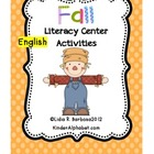Fall Literacy Center Activities (English)