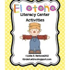Fall Literacy Center Activities (Spanish)
