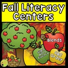 Fall Literacy Centers: Blends, Sight Word Fluency, and ABC