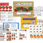 Fall Math Centers (counting, money, number stories)