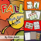Fall Math Game Pack