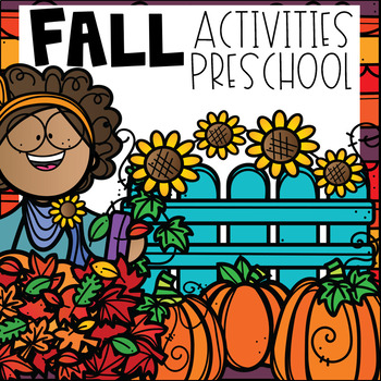 Fall Math and Literacy Centers for Preschool