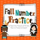 Fall Number Practice