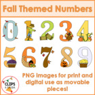 Fall Numbers for Commercial and Personal Use