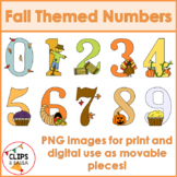 Fall Themed Numbers
