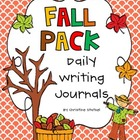 Fall Pack: Daily Writing Journals