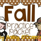 Fall Practice Packet