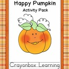 Fall Pumpkin Fun - Learning Centers