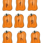Fall Pumpkin Onset & Rime Short Vowel Game