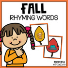 Fall Rhyming Game