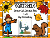 Fall Squirrel I Can Draw I Can Write Fun Pack