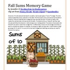 Fall Sums Addition Game