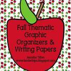 Fall Thematic Graphic Organizers and Writing Paper Prompts