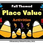 Fall Themed Place Value Activities - Comparing, Ordering a