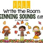 Fall Write the Room - Beginning Sounds Edition