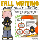 Fall Writing for Second Graders