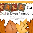 Fall for Odd and Even Numbers (freebie)