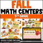 Fall into Math {5th Grade Common Core Math Centers}
