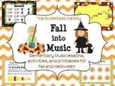 Fall into Music - elementary music lessons and activities