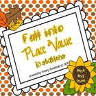 Fall into Place Value 10 Stations (tens and ones)