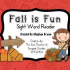 Fall is Fun! {Sight Word Mini-Book}
