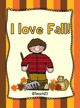 Fall themed centers:  I love Fall!