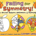 Symmetry Activities for Fall, Halloween, and Thanksgiving