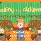 Falling into Autumn! Literacy and Math Centers