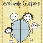 Family Crest - social studies family activity