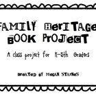 Family Heritage Book Project