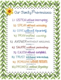 Family Promises - 10 Verses to Live By