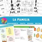 Spanish Family Lesson Complete Set (2, 3 & 4s) - Mi familia