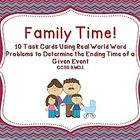 Family Time!  Real World Word Problems Using CCSS 3.MD.1