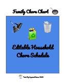 Family household Chore Chart
