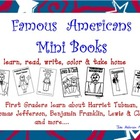 Famous Americans Mini Books