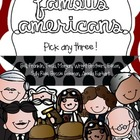 Famous Americans {Make Your Own Bundle}