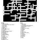 Famous New Yorkers Word Search and Crossword Puzzles
