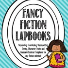 Fancy Fiction Lapbook Pack {File Folder, Flippy Book}