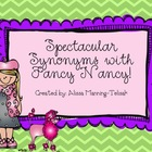 Fancy Nancy Synonyms