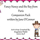 """Fancy Nancy and the Boy from Paris"" Book Companion"