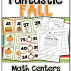 Fantastic Fall Math Centers