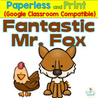 Fantastic Mr. Fox Literature Packet