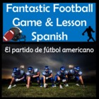Fantastic Spanish NFL Pro Football Warm-Up Game