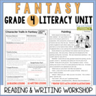 Fantasy Reading & Writing Unit: Grade 4...40 Lessons with CCSS!!