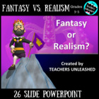 Fantasy and Realism