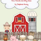 Farm Animals Corraling Math Game